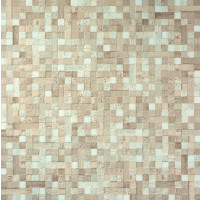 Pupunha Mixed Brown 60x60 Mosaic Effect Glazed Porcelain