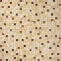 Rockwood Mixed Brown 60x60 Mosaic Effect Glazed Porcelain