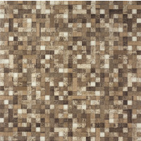 Cacao Mixed Brown 60x60 Mosaic Effect Glazed Porcelain