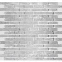 Atsa Silver Stone Linear Mosaic