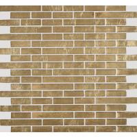 Koko Gold Glazed Stone Linear Mosaic