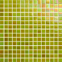 Etna Iridescent Glass Mosaic
