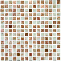 Golden Spur Mixed Gold Fleck Glass Mosaic
