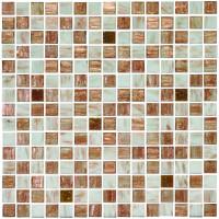Golden Spur Mixed Gold Fleck Glass Mosaic